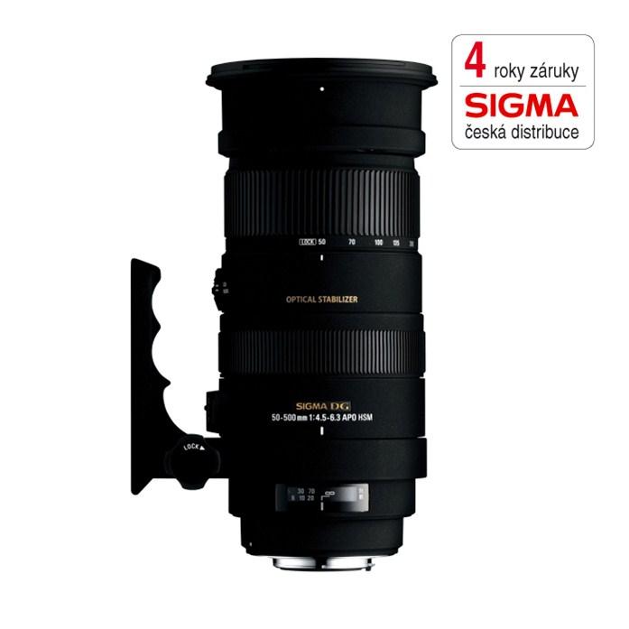 SIGMA 50-500/4.5-6.3 APO DG OS HSM F/SONY