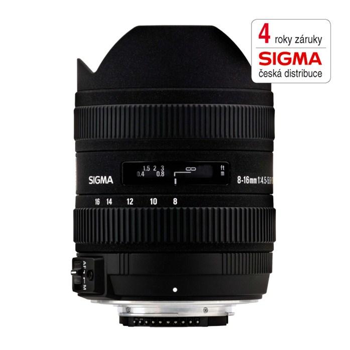 SIGMA 8-16/4.5-5.6 DC HSM Sony