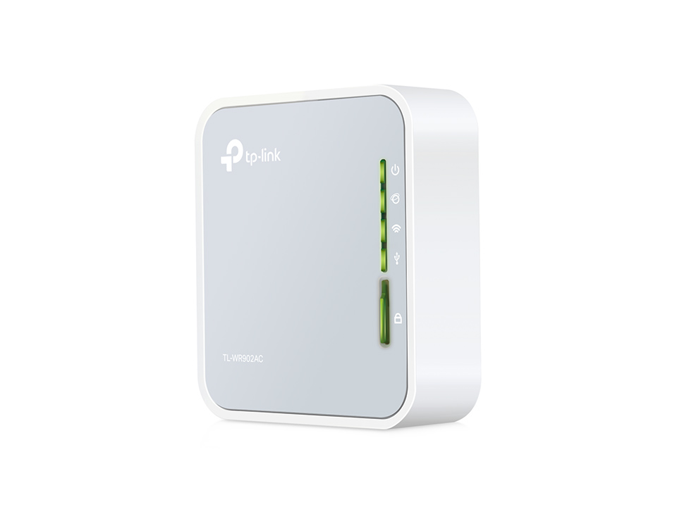 TP-LINK TL-WR902AC AC750 Mini pocket Router