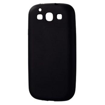 Hama silikonový obal Skin pro Samsung Galaxy S III, černý