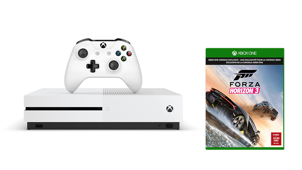 XBOX ONE S 500 GB + 1 x hra (Forza Horizon 3)