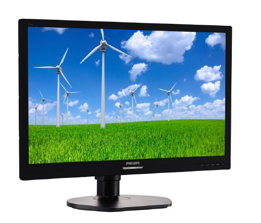 Philips LCD 221S6LCB 21.5'', LED, 5ms, DC20mil, D-Sub/DVI, 1920x1080, HAS, pivot