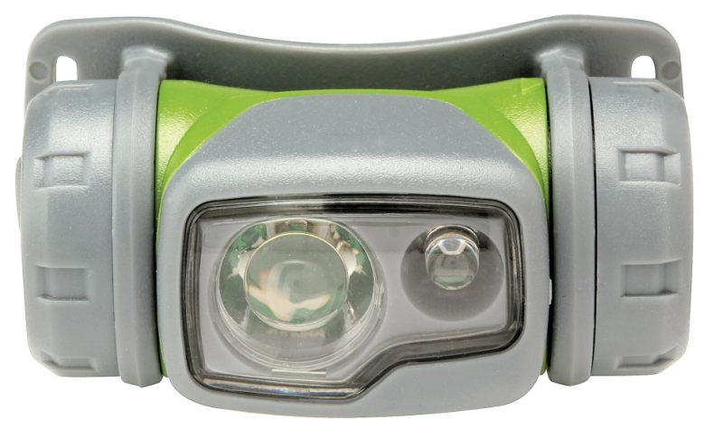 Emos LED svítilna čelovka PHM0M1B004, 0.5W Nichia LED + 1 červená LED, 1x AA