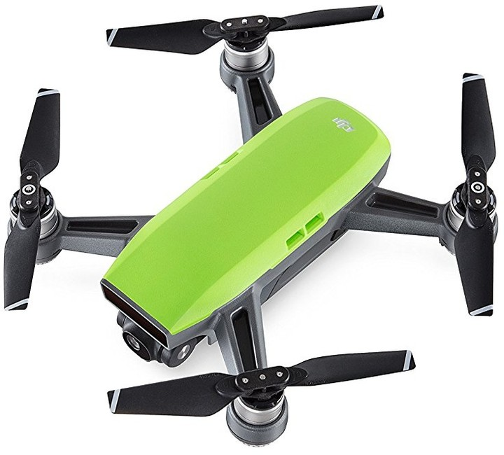 DJI kvadrokoptéra - dron, Spark Fly More Combo, Full HD kamera, zelený