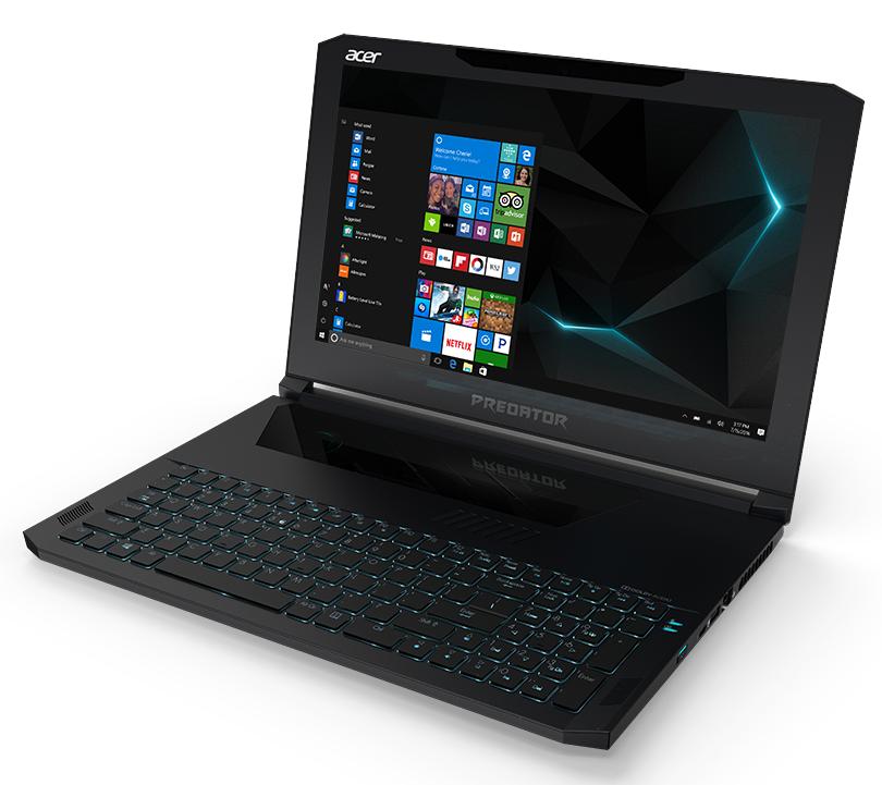 "Acer Predator Triton 700 (PT715-51-72SM) i7-7700HQ/8GB+8GB/512GB PCIe SSD/GTX 1060 6GB/15.6""FHD IPS matný/BT/W10 Home/Black"