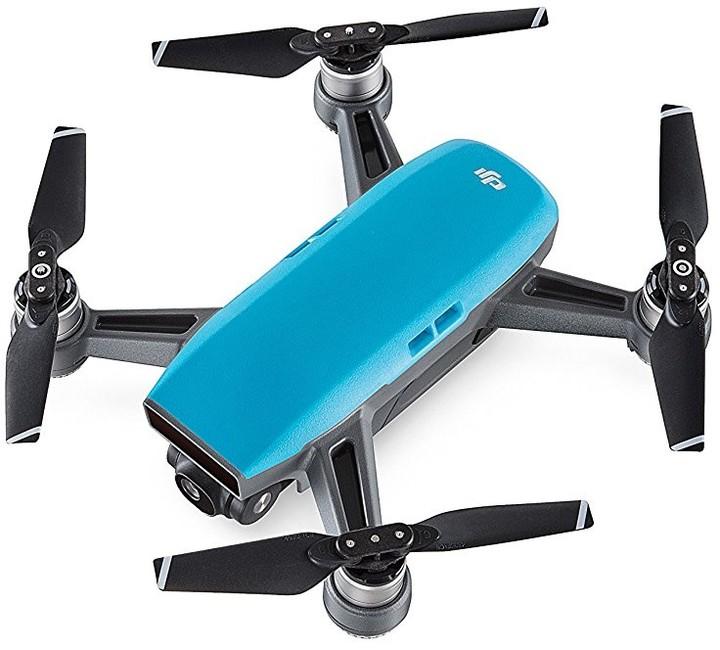 DJI kvadrokoptéra - dron, Spark, Full HD kamera, modrý