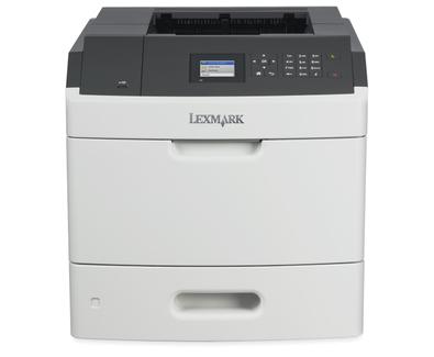 Lexmark MS818dn mono laser, 60 str./min., duplex, síť, barevný LCD