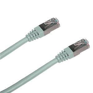 DATACOM Patch cord SFTP cat6 0,5m šedý