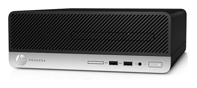 HP ProDesk 400 G4 SFF, G4560, Intel HD, 4 GB, 500 GB, DVDRW, W10Pro, 1y