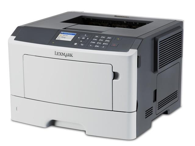 Lexmark MS617dn mono laser, 47 str./min., duplex, síť, barevný LCD