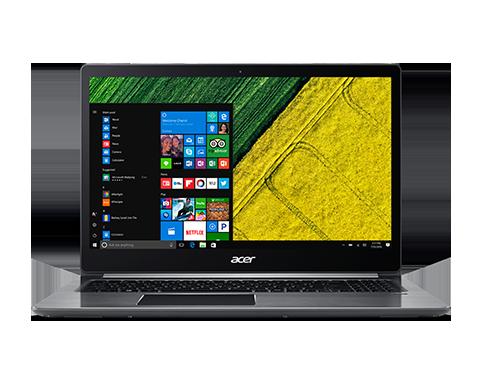 """Acer Swift 3 (SF315-51-3541) i3-7100U/4GB+N/A/256GB PCIe SSD+N/HD Graphics/15.6"""" FHD IPS/BT/W10 Home/Gray"""