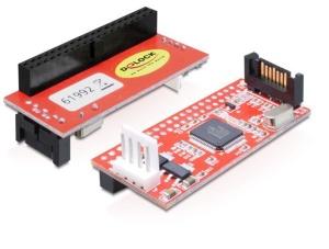DeLock převodník IDE zařízení ,40 pin,samice > SATA, 7 pin, samec