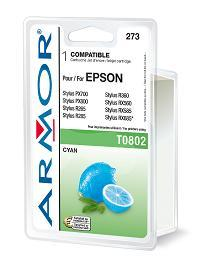 ARMOR cartridge pro Epson Stylus Photo R265 cyan (T080240)