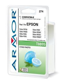 ARMOR cartridge pro Epson Stylus Photo R265 photo cyan (T080540)