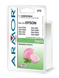ARMOR cartridge pro Epson Stylus Photo R265 photo mag. (T080640)