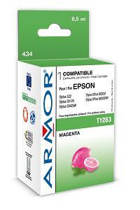 ARMOR cartridge pro EPSON Stylus S22, SX125 Magenta (T128340) 6,5 ml