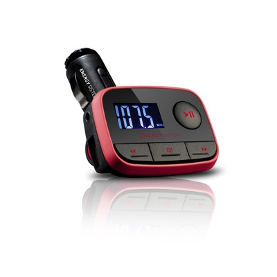 ENERGY Car MP3 f2 Racing Red, FM vysílač, SD/SDHC karty až do kapacity 32GB, MP3,WMA,USB,DO
