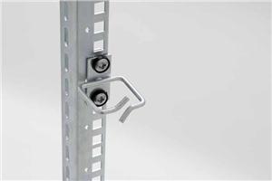 Vyvazovací háček 40x80 D2 kov centr.fix,čelní gate