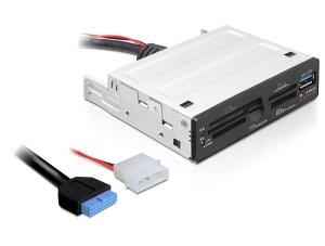 Delock USB 3.0 čtečka paměťových karet 3.5 63 in 1