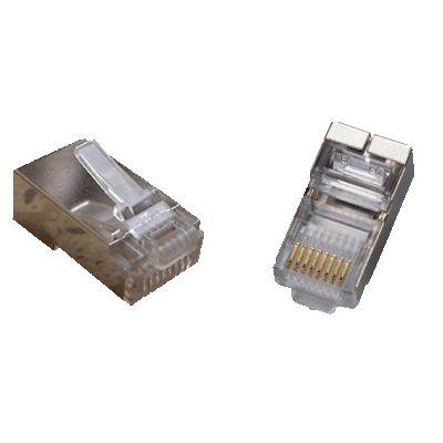 DATACOM Plug STP CAT5E 8p8c- RJ45 lanko - 100-pack