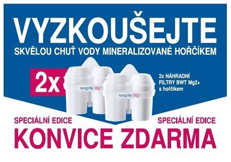 VIDA FILTRAČNÍ KONVICE + 2x FILTR BWT