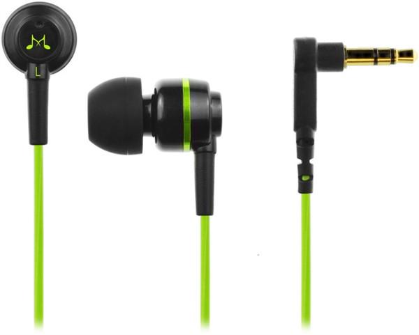 SoundMAGIC ES18 černá/zelená