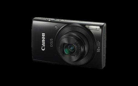Canon IXUS 190 BLACK , Essential KIT (+neopren.pouzdro)