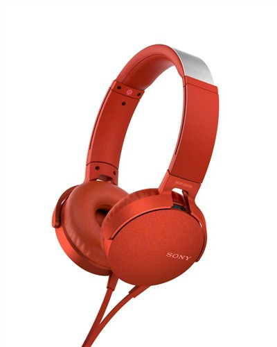Sony MDR-XB550APR red