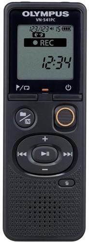 Olympus VN-541PC black Digitální záznamník, interní paměť 4GB