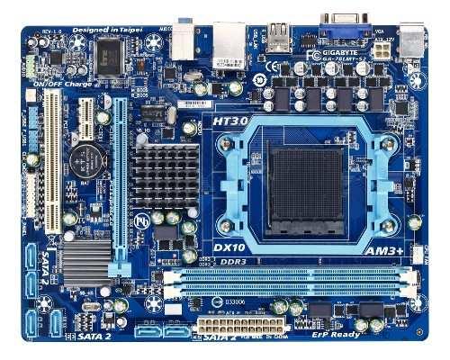 GIGABYTE MB Sc AM3+ 78LMT-S2, AMD760G, VGA, 2xDDR3, mATX