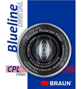 BRAUN C-PL polarizační filtr BlueLine - 55 mm