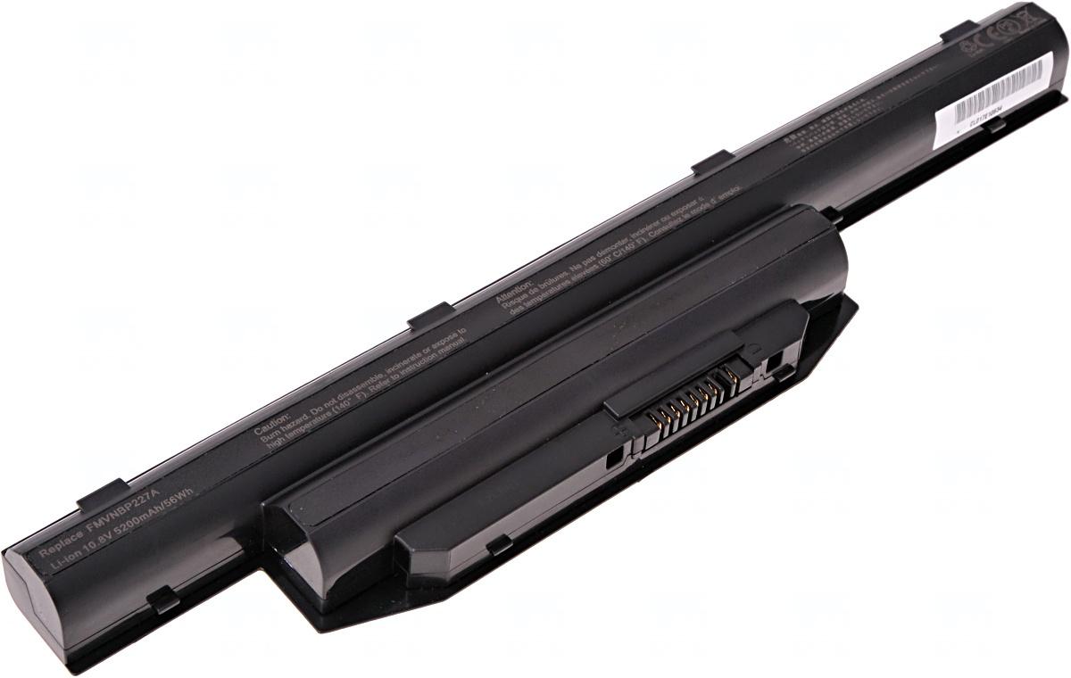 Baterie T6 power Fujitsu LifeBook A544, AH564, E544, E546, E733, E744, E753, E754, 6cell, 5200mAh