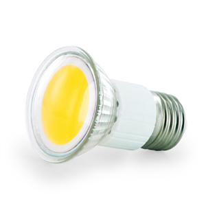 WE LED žárovka COB 2,5W E27 teplá bílá - refl