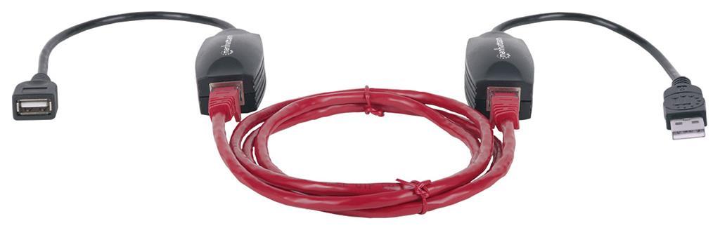 MANHATTAN USB Line Extender (USB 1.1, max. 60m)