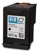HP 901XL Black Ink Cart, 14 ml, CC654AE