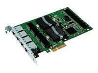 Intel Gigabit Pro/1000 PT (4xRJ45) Quad Port Server - include Low Profile, bulk