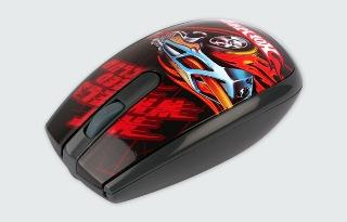 MODECOM optická myš MC-320 ART HOT WHEELS 2