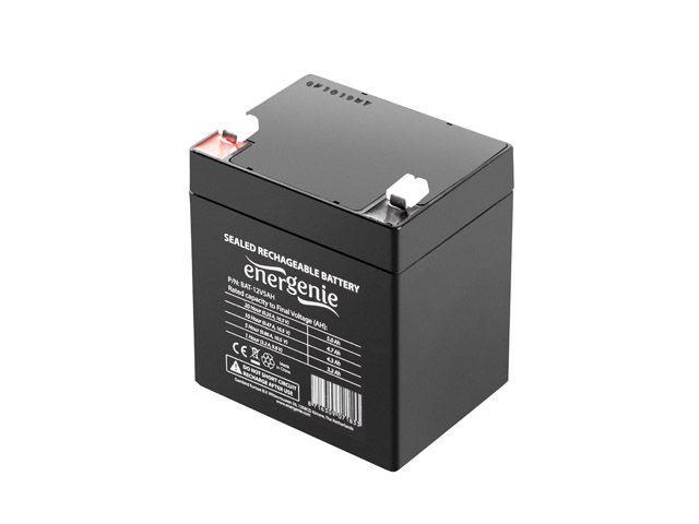 Energenie Rechargeable Gel Battery 12V/5AH