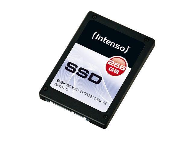 Intenso Interní disk SSD 256GB Sata III, 2,5'' TOP (read:520MB/s;write:400MB/s)