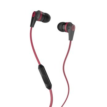 Skullcandy INKD 2.0 Black/Red Mic1