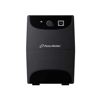 Power Walker UPS Line-Interactive 650VA 2x 230V EU OUT, RJ11 IN/OUT, USB