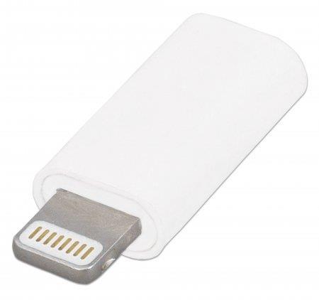 Manhattan iLynk nabíječka / synchronizační adaptér iPhone, iPod, iPad lightning