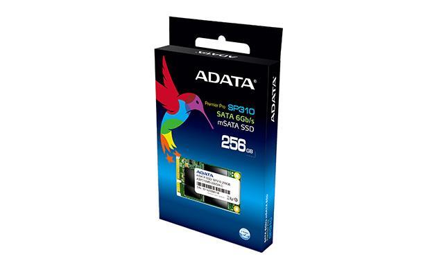 ADATA SSD Premier Pro SP310 256GB mSATA SATA2 MLC (410MB/s; 180MB/s), box