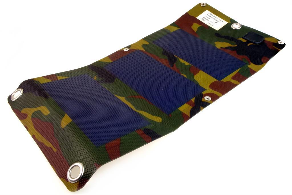 PowerNeed Sunen Flexibilní solární nabíječka 3W, maskování