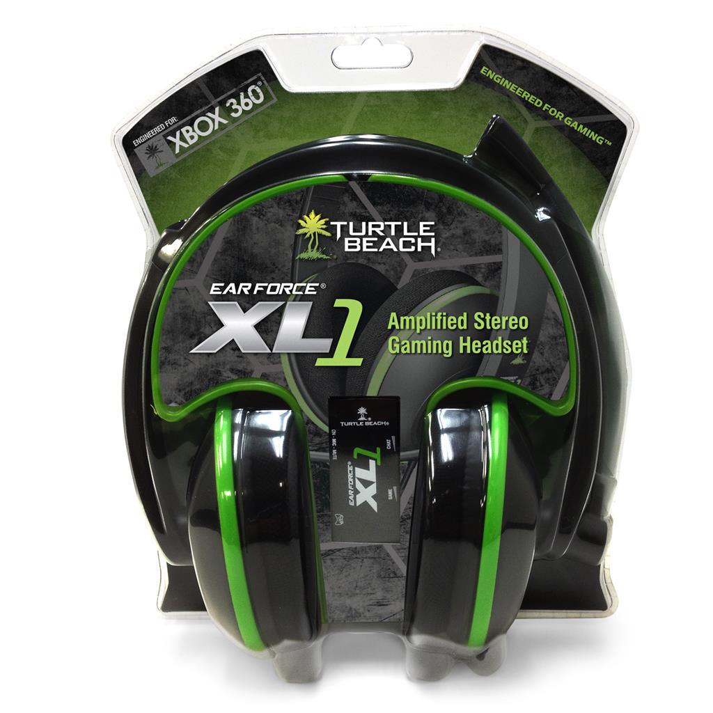 Turtle Beach EF XL1 HS (MSFT) sluchátka s mikrofonem, černé