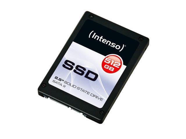 Intenso Interní disk SSD 512GB Sata III, 2,5'' TOP (read:500MB/s;write:490MB/s)