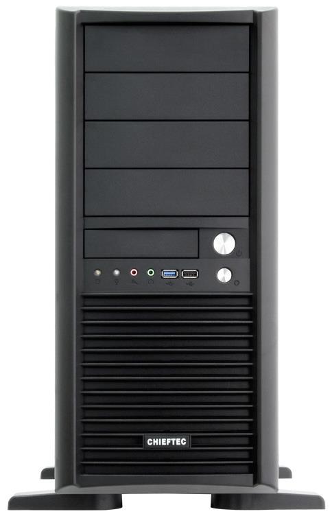 Chieftec PC skříň SMART CH-09B-U3, EATX, bez zdroje