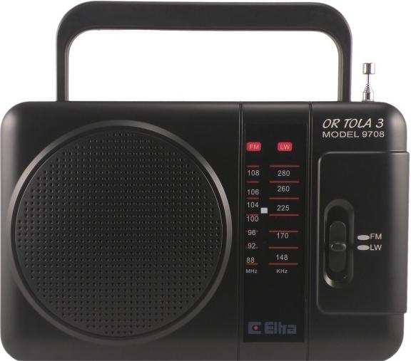 Rádio Eltra Tola 3 černé