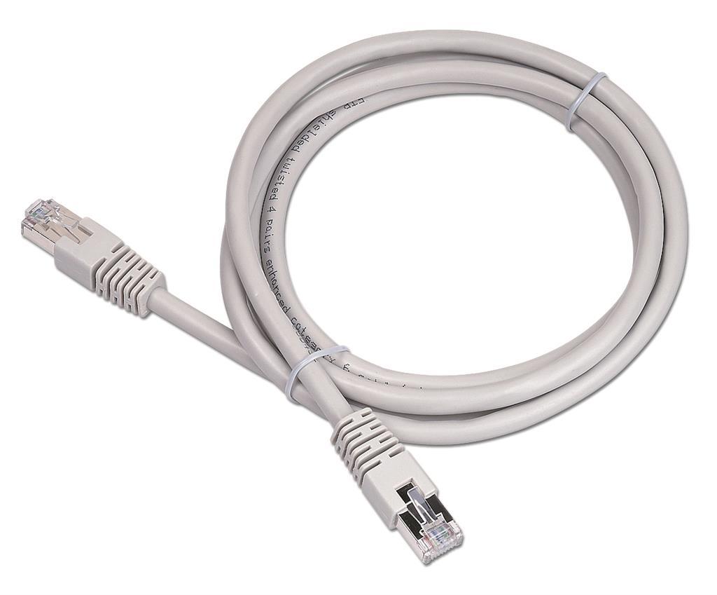 Gembird Patch kabel RJ45, cat. 6, FTP, 2m, šedý