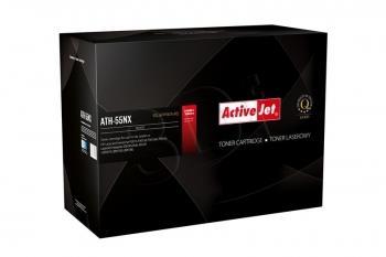 Toner ActiveJet ATH-55NX | černý | 12500 str. | HP CE255X (55X), Canon CRG-724